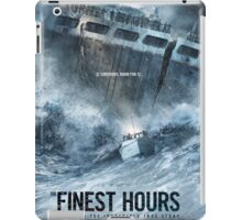 the finest hours iPad Case/Skin