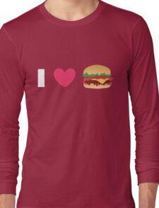 Burger Lovin' Long Sleeve T-Shirt