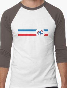 Euro 2016 Football - France (Home Blue) Men's Baseball ¾ T-Shirt