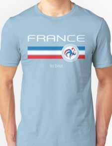 Euro 2016 Football - France (Home Blue) Unisex T-Shirt