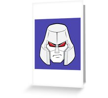 Transformer Optimus Prime Decepticon Greeting Card