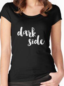 Dark Side (Version 1) Women's Fitted Scoop T-Shirt