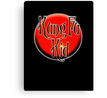 Kung Fu Kid, Chinese, China, Martial Art, Fight Club, MMA Canvas Print