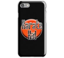 KARATE, Karate Kid, Japanese, JAPAN, MMA, Rising Sun background iPhone Case/Skin