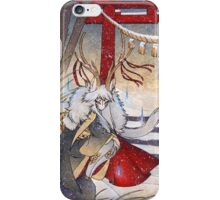 The Summit Spirit - Deer Kirin Yokai Spirit iPhone Case/Skin