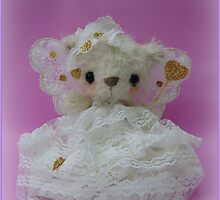 Handmade bears from Teddy Bear Orphans - Fairy Alina by Penny Bonser