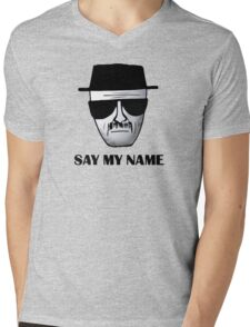 Breaking Bad Walter White Heisemberg Quotes Mens V-Neck T-Shirt