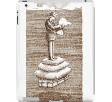 Reading  soft News of good Memories iPad Case/Skin