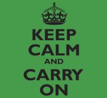 KEEP CALM, & CARRY ON, BE BRITISH, BLIGHTY, UK, WWII, PROPAGANDA, IN BLACK One Piece - Short Sleeve
