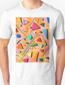 80s pop retro pattern Unisex T-Shirt