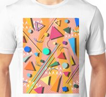 80s pop retro pattern Unisex T-Shirt