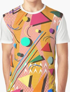 80s pop retro pattern Graphic T-Shirt