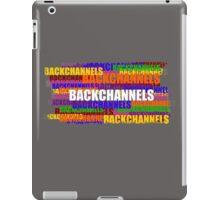 BACKCHANNELS! iPad Case/Skin