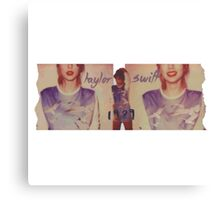 Taylor swift - 333 Canvas Print