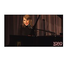 Taylor swift - 1989 - live piano Photographic Print