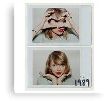 Taylor swift - 1989 - love Canvas Print
