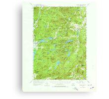 New York NY Paradox Lake 136388 1953 62500 Canvas Print
