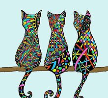 Three Amigos by Susan S. Kline