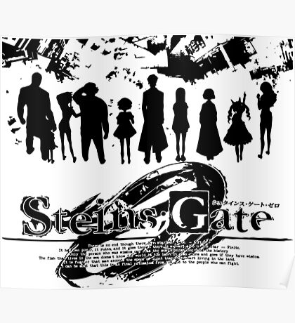 Steins;Gate - Unlimited Worldlines Poster