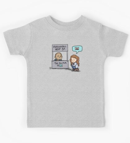 the doctor is in Kids Tee