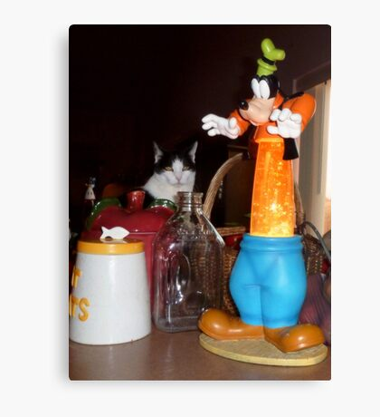 Wait! That one's NOT a cookie jar! Canvas Print