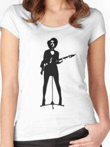 st vincent Women's Fitted Scoop T-Shirt