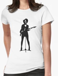 st vincent Womens Fitted T-Shirt