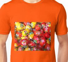 Floral Easter Eggs. Unisex T-Shirt