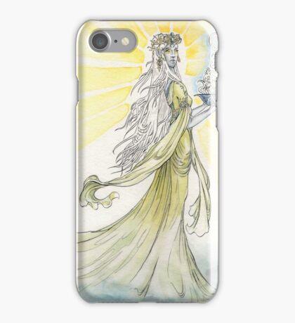 The Elven Maiden iPhone Case/Skin