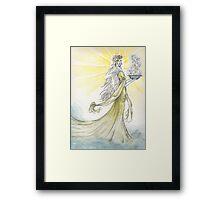 The Elven Maiden Framed Print