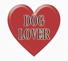 DOG, Dogs, Pets, Dog Lover at heart, Walkies, BLACK One Piece - Short Sleeve
