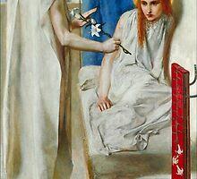 Dante Gabriel Rossetti - The Annunciation, Tate Britain by Adam Asar