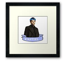 Castiel  ~ Supernatural ~ Framed Print