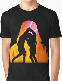 Star Wars - Anakin Skywalker Vs Obi Wan Kenobi Graphic T-Shirt