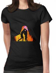 Star Wars - Anakin Skywalker Vs Obi Wan Kenobi Womens Fitted T-Shirt