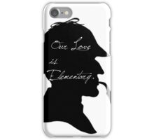 Our Love is Elementary  iPhone Case/Skin