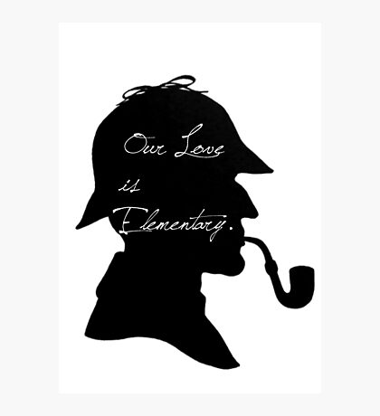 Our Love is Elementary  Photographic Print
