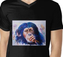 Chimongo Mens V-Neck T-Shirt