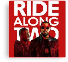 Ride Along Two The Movie Canvas Print