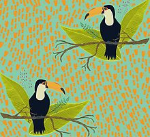 Tropical Toucan by OliviaWendt