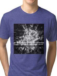 0126 Black Tri-blend T-Shirt