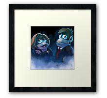 0024 - The Banana Files Framed Print