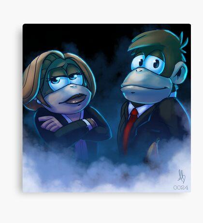0024 - The Banana Files Canvas Print