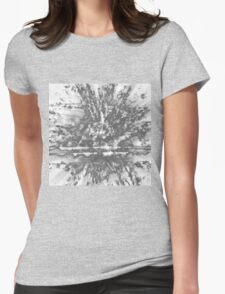 0126 Silver Womens Fitted T-Shirt