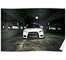 White Evo 10 Poster