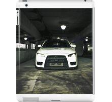 White Evo 10 iPad Case/Skin