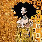 Conchita Wurst as Golden Adele by federicoghinart