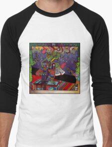 El huervo robot Men's Baseball ¾ T-Shirt
