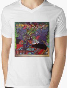 El huervo robot Mens V-Neck T-Shirt