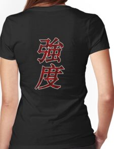 Strength In Chinese Womens Fitted T-Shirt
